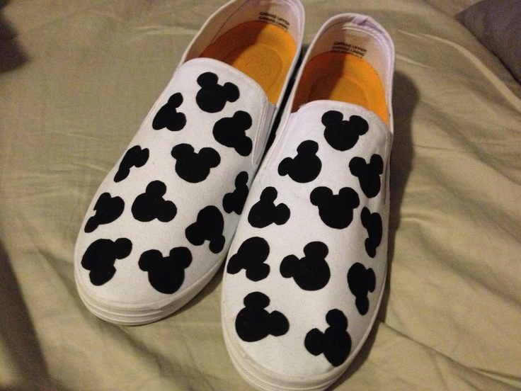 Mickey Mouse shoes!!!