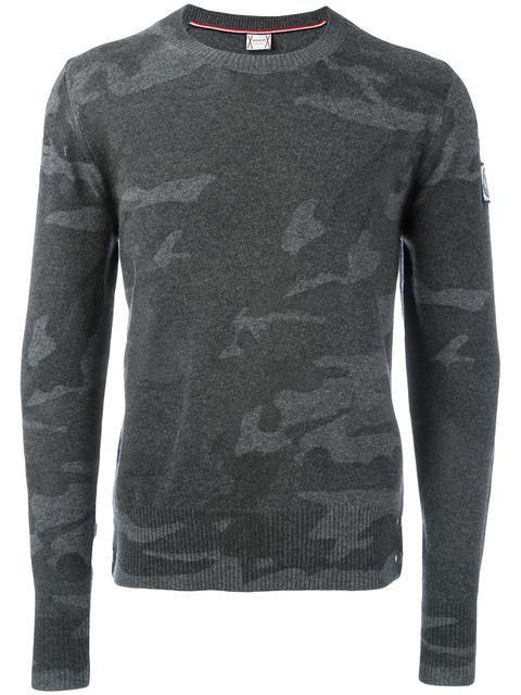 MONCLER GAMME BLEU camouflage jumper. #monclergammebleu #cloth #jumper