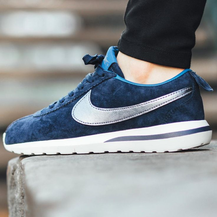 Nike Cortez Nm Blue And Yellow