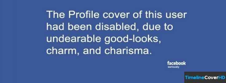 Had Been Disabled Facebook Cover