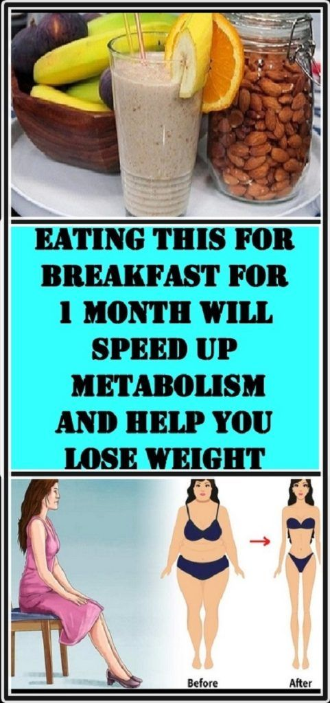 Eating This for Breakfast for 1 Month Will Speed Up Metabolism and
