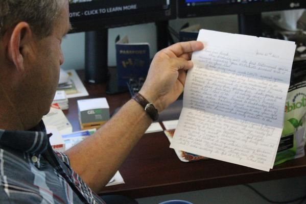 """""""It's not often in this day and age that a person receives a hand-written letter in the mail!"""" Our President, Earl McLaren, writes about a moving letter he received from customer, Leslie Rochelle.  Read the full story by clicking on the link below."""