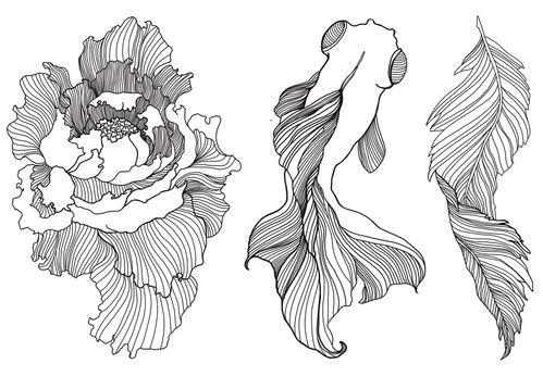 Beauté : Les tatouages éphémères Kyoto de Nini Peony faux tatoos http://www.vogue.fr/beaute/shopping/diaporama/tatouages-phmres/20743