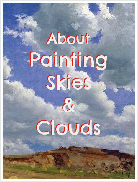 10 great tips about painting skies and sunsets. Awesome for beginners to learn how to paint clouds and skies.