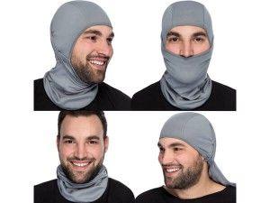 Multipurpose Premium Balaclava Ski Mask + Versatile Sports/Casual Headband