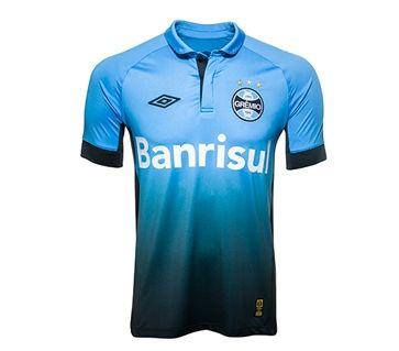 Grêmio Mania - A Loja Oficial do Grêmio - Linha Oficial - Uniforme III 2015 - Camisa Oficial III Fan Print cel/pto 2015