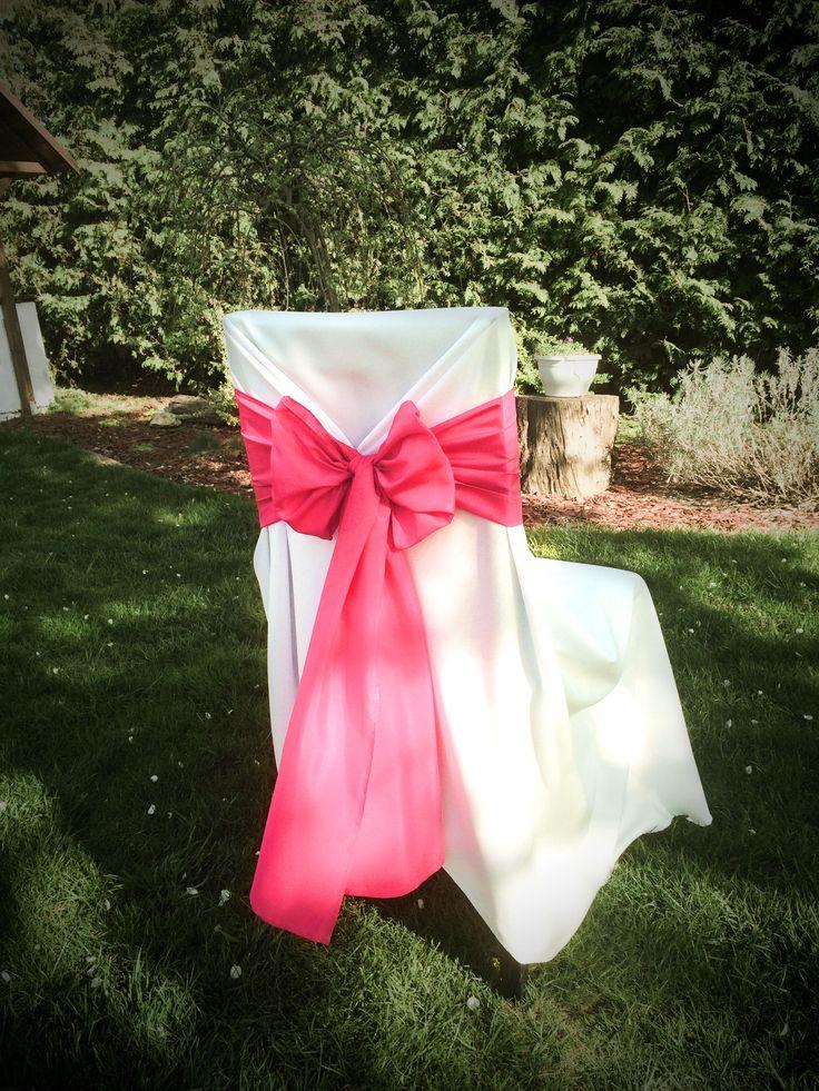Székszoknya bérlés pink színű masnival Érd