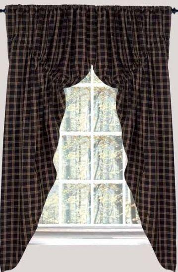 primitive curtains | country lamps | Primitive Home Decors