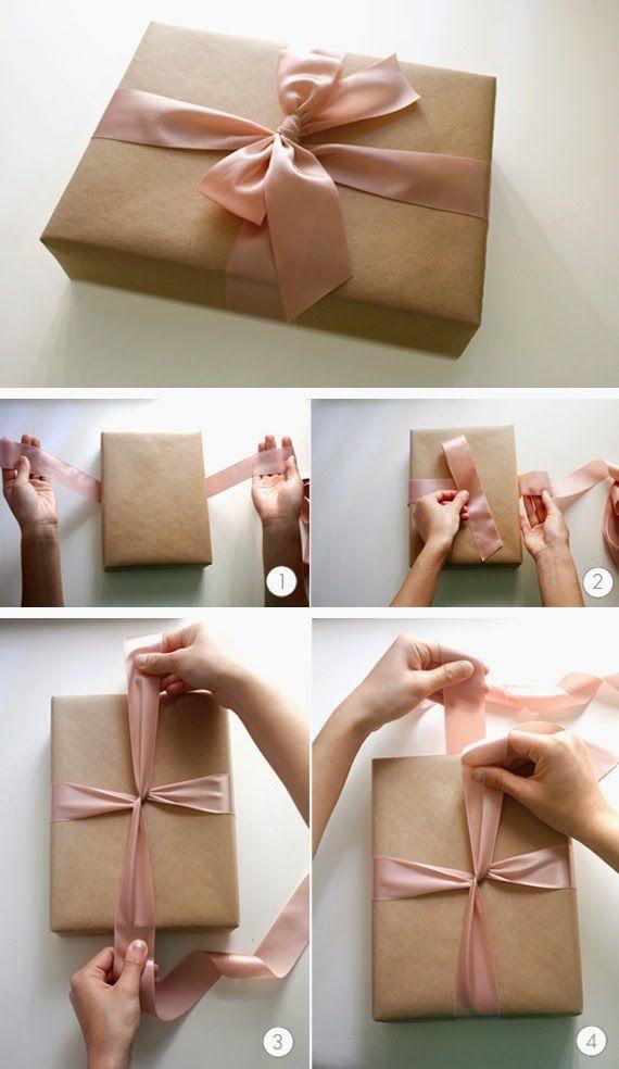 Algumas inspirações para laços.                                    Veja também:     Ideias para embalar presentes  Caixas para imprimir e pr...