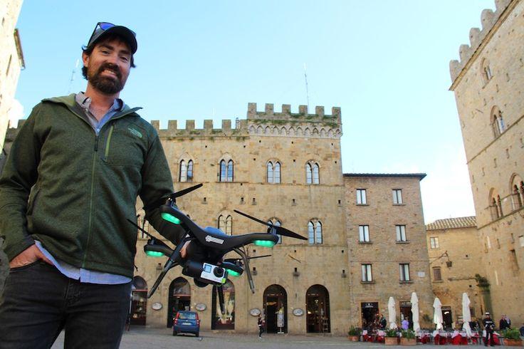 Reality capture, droni e laser: Volterra rivive in un modello BIM