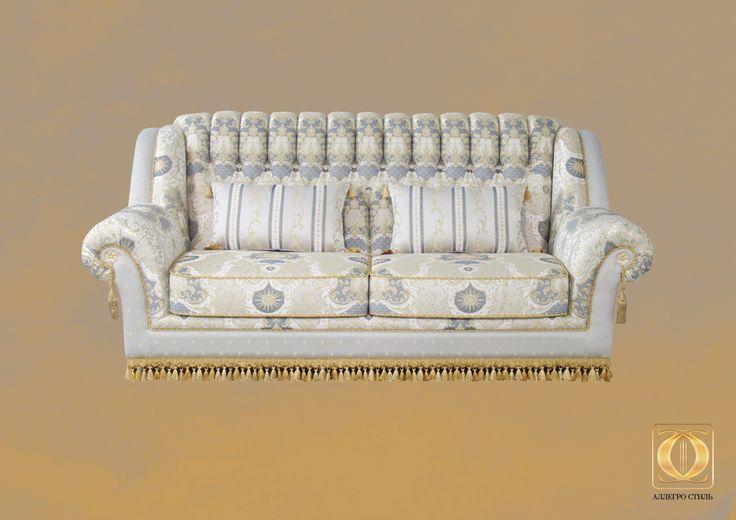 Коллекция итальянской мебели Палаццо от Аллегро-Стиль: диван Камилла
