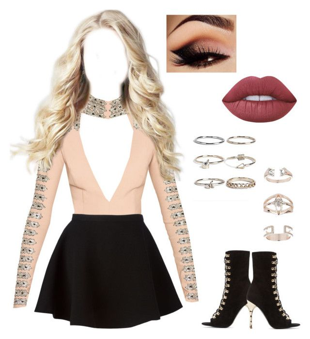 """Sem título #805"" by maria-eduarda-velasco ❤ liked on Polyvore featuring Neil Barrett, Boohoo, Balmain, Topshop and Lime Crime"