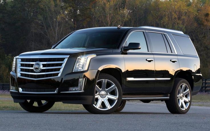 2016 Cadillac Escalade Vsport Black