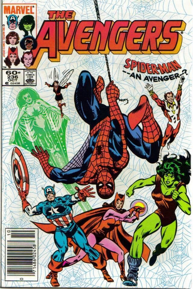 The Avengers #236 cool cover