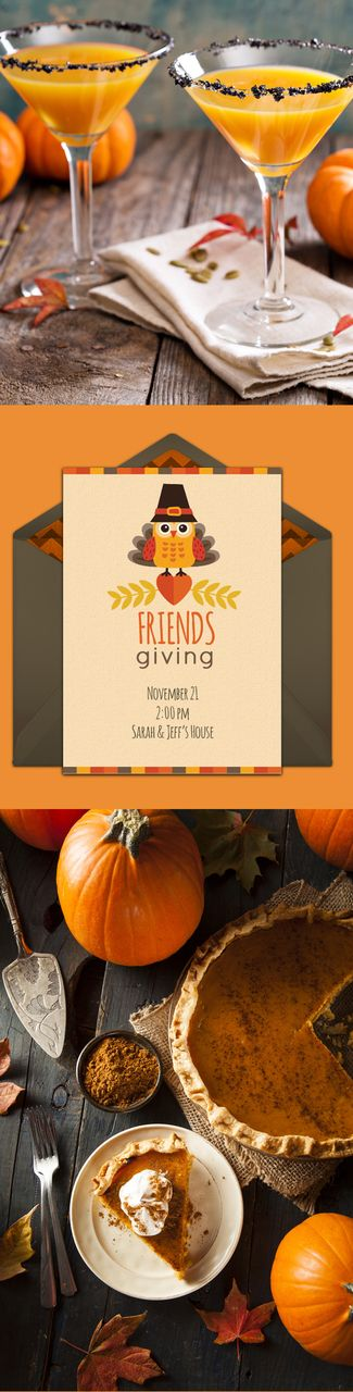 6 completely adorable Friendsgiving ideas. We love these for any Thanksgiving dinner party!