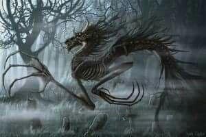 bony creature