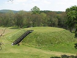 Etowah Indian Mounds: located in northwestern Georgia date back to 1000 AD. The mounds are associated with the indigenous peoples of the South Appalachian Mississippian culture.