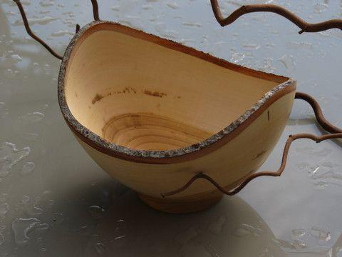 KAARNA ciotola in legno unico, fatto a mano in Finladia – AitoNordic
