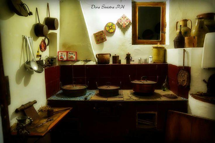 Cucina a legna - Casa Museo Caripa