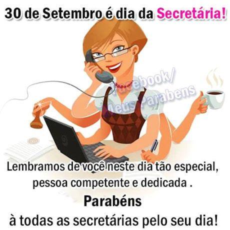 frases para dia da secretária dedicada
