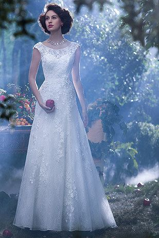 8 Charming Disney Wedding Dresses For Grown-Ups