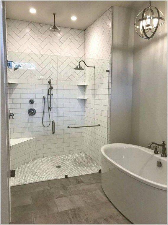 14 Inspiring Small Master Bathroom Decorating Ideas Lmolnar Bathroom Remodel Master Bathrooms Remodel Modern Master Bathroom