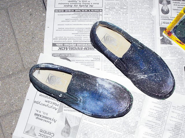 ddisorder: cosmic shoes tutorial
