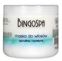 MASKA PROTEINOWA BingoSpa, Maska do włosów ze spiruliną i keratyną.