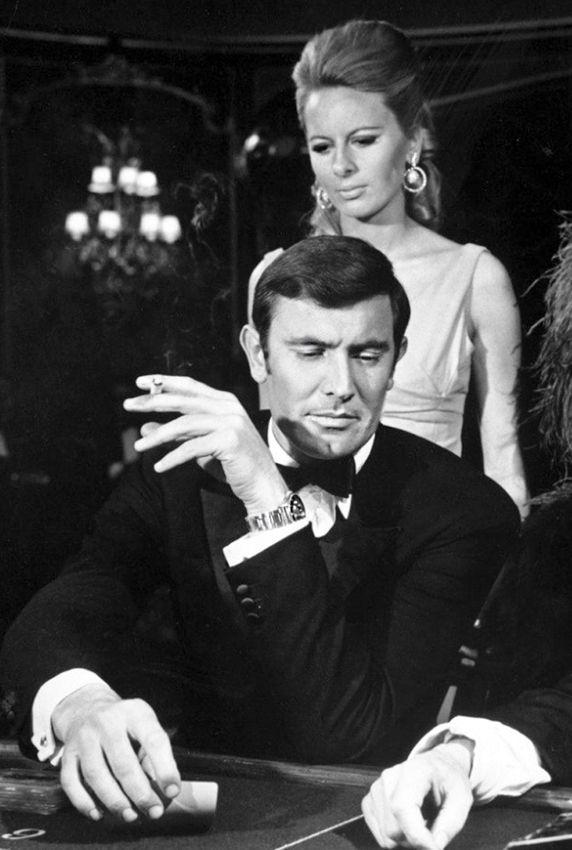 "#GeorgeLazenby -- #JamesBond ""On Her Majesty's Secret Service"" 1969 -- #BowTie"