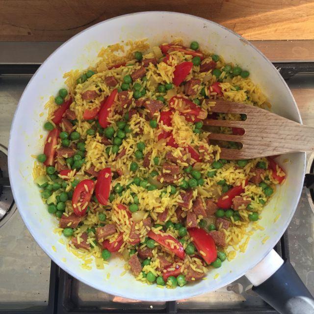 gele rijst | recepten #jmdinspireert