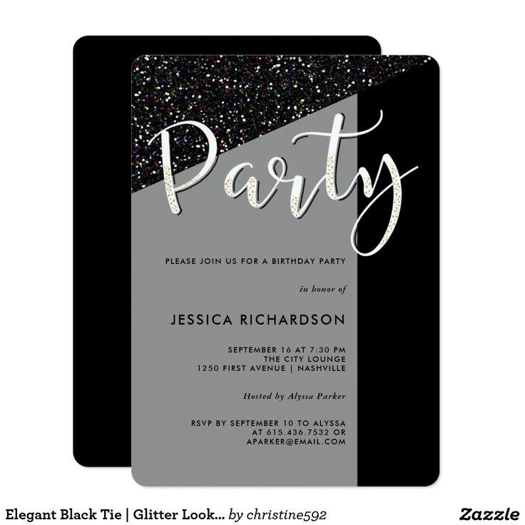 391 best Birthday Party Invitations images on Pinterest | Birthday ...