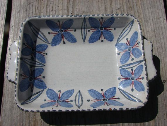 Beautiful Vintage Sweden collectible Bowl Plate from by Luckytage, €16.00