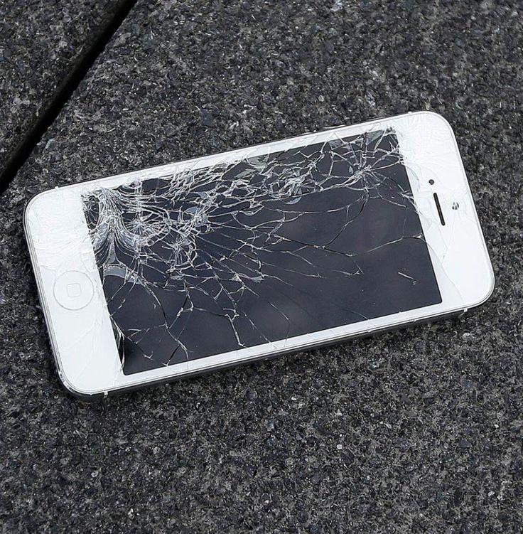 Schermo rotto di iPhone le cause in uninfografica