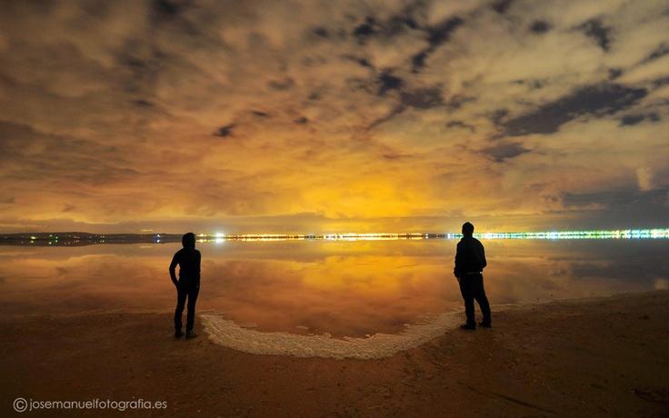 El reflejo de la noche