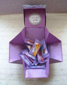 Mini und Maxi Anleitungen: Boxkarte                              …