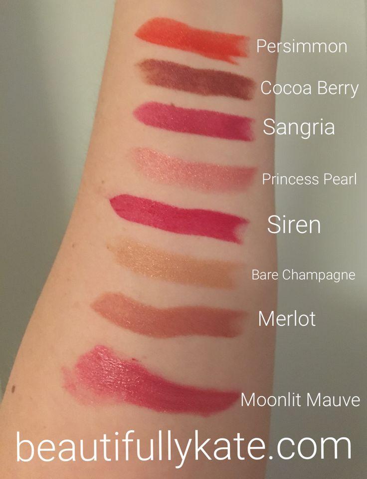 Mineral facial makeup