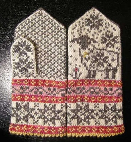 Selbu-Baaa-Ter pattern by Mary Scott Huff