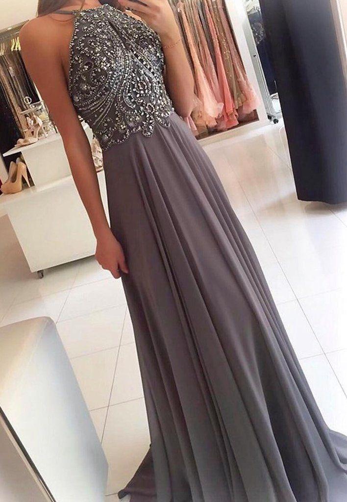 Prom Dress Halter Neckline, Back To School Dresses, Prom Dresses For Teens, Pageant Dress, Graduation Party Dresses BPD0588
