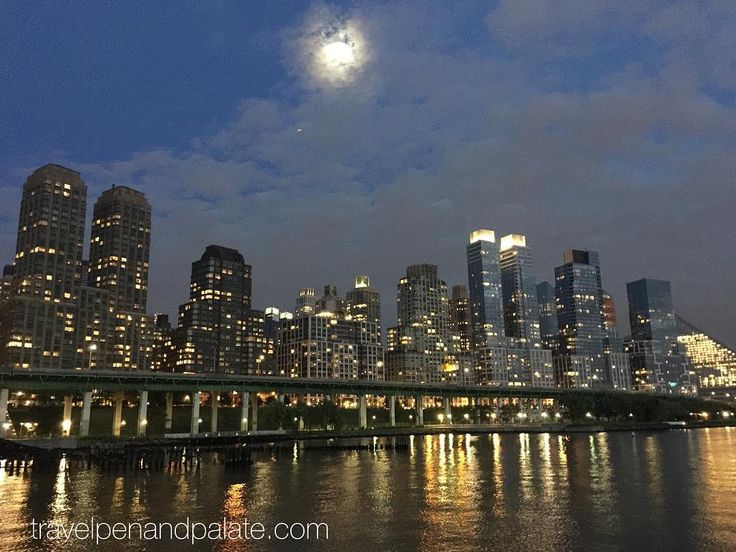 Upper West Side #manhattan skyline from Riverside Park #newyork #nightphotography #travel #ilikephotography