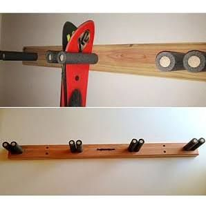 wall ski rack - Google Search