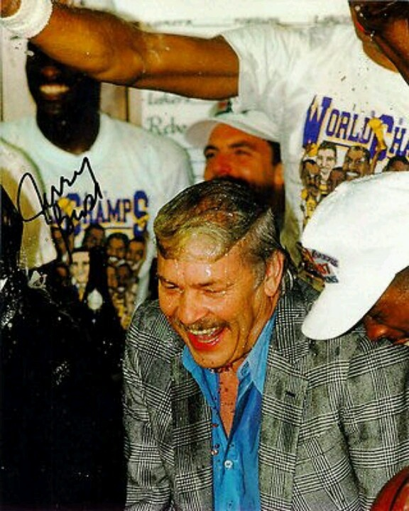 Los Angeles Lakers Owner Dr Jerry Buss #restinpeace #greatestownerinhistory