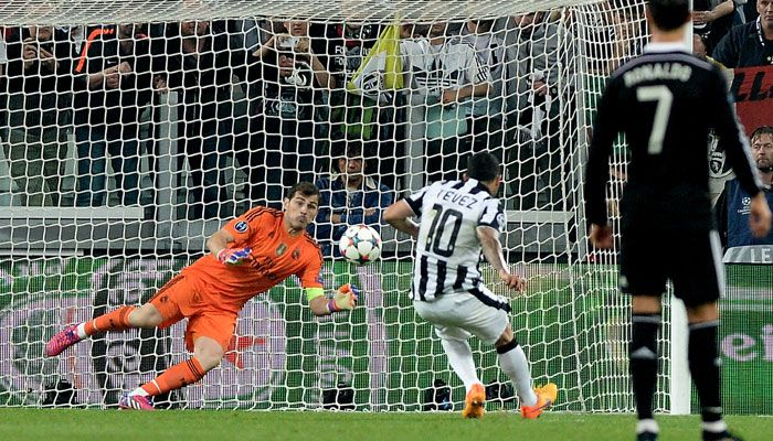 UEFA Champions league  1st semifinal 1st leg match Juventus 2-1 real madrid  To get more updates visit http://crickers17.blogspot.in/