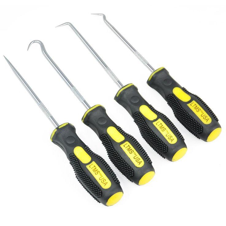 TRIXES Kit di attrezzi gancio e presa 4 pezzi Autoveicoli Rimozione marcature: Amazon.it: Fai da te