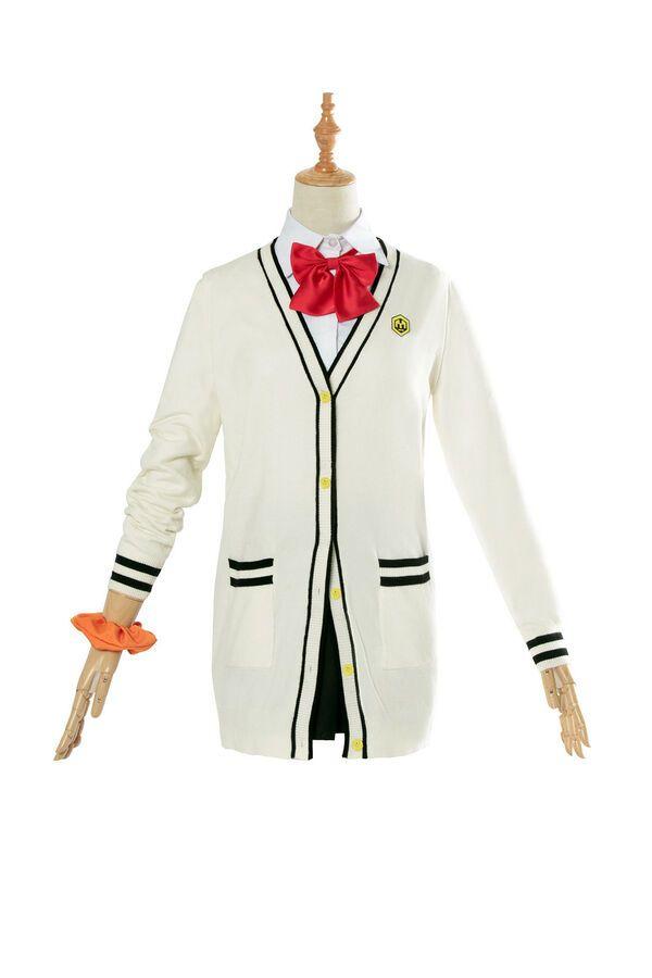 Takarada Rikka SSSS.GRIDMAN Cosplay Costumes Sweater Coat Skirts School Uniforms