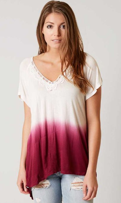 Daytrip Dip Dye Top - Women's Clothing | Buckle