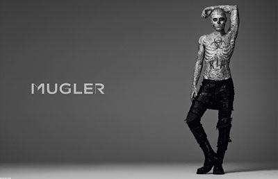 Rick Genest: French Fashion, Lady Gaga, Fashion Design, Ads Campaigns, Tops Models, Zombies Boys, Thierry Mugler, Rick Genest, Male Models