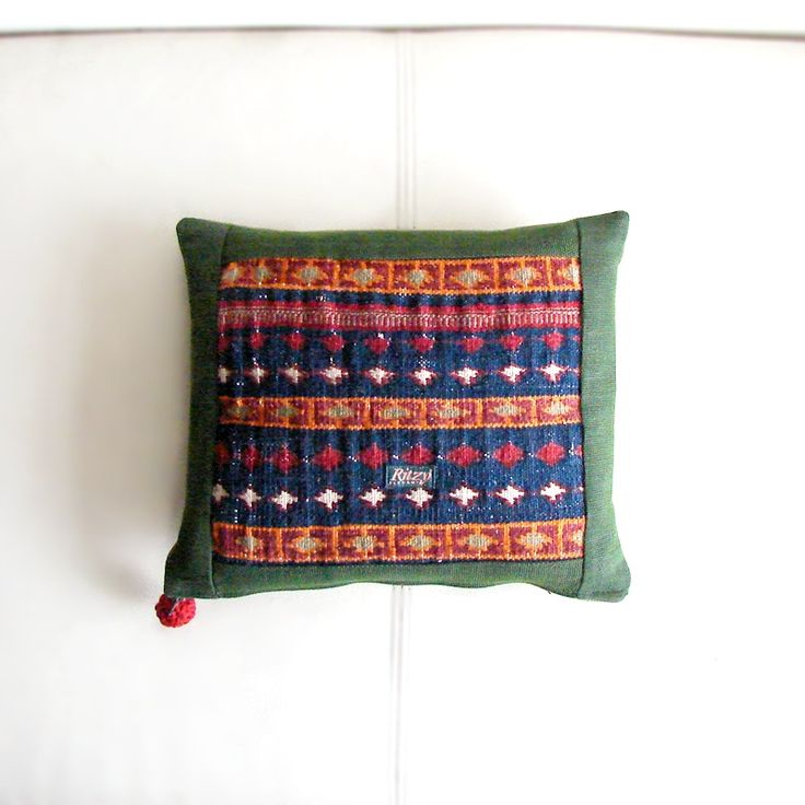 Cushion Covers – Mini Kilim Pillow, Hippie Seat Cushion – a unique product by RitzySelection on DaWanda
