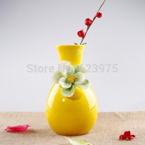 кусок простота цветок копуста глазурью фарфор цветок ваза топ украшение стола
