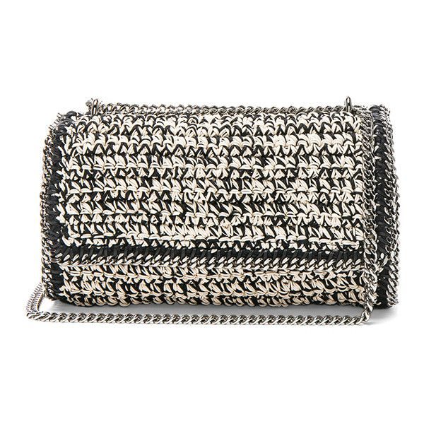 Stella McCartney Falabella Crochet Shoulder Bag ($1,925) ❤ liked on Polyvore featuring bags, handbags, shoulder bags, stella mccartney shoulder bag, stella mccartney handbags, handbag purse, hand bags and handbags shoulder bags