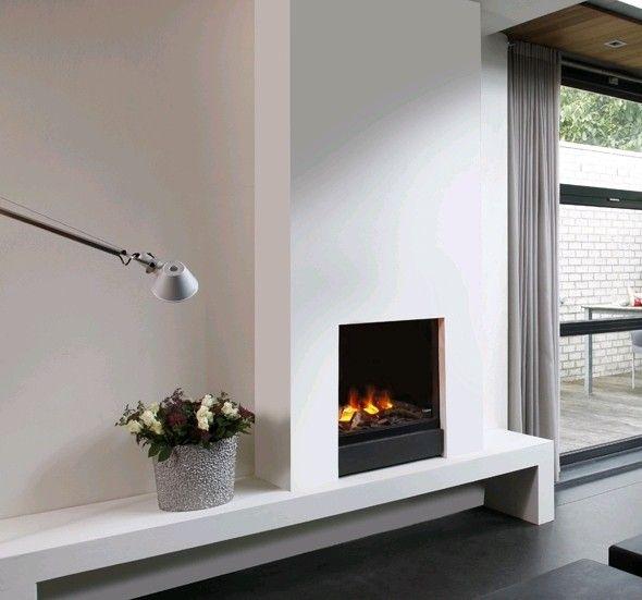 Faber Gala Opti-Myst #Kampen #Fireplace #Fireplaces #Interieur